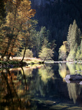 California, Sierra Nevada, Yosemite National Park, Fall Along the Merced River Photographic Print by Christopher Talbot Frank