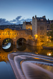 Pulteney Bridge over River Avon, Bath, Somerset, England Photographic Print by Brian Jannsen