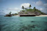 Indonesia, View of Indonesian Island Photographic Print by Tony Berg