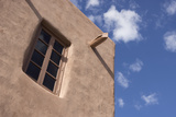 New Mexico, Santa Fe. Typical Southwestern Hispanic Style Architecture Photographic Print by Luc Novovitch