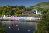 Small Town of Portree on the Isle of Skye, Scotland Photographic Print by Brian Jannsen