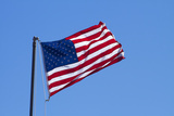 American Flag, USA Photographic Print by David Wall