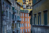 Colorful Building of the Town of Perugia Photographic Print by Terry Eggers