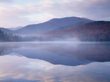 New York, Adirondack Mts, Algonquin Peak and Fall by Heart Lake Photographic Print by Christopher Talbot Frank
