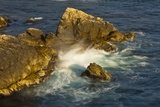Surf and Rocks, Rocky Creek Area, Big Sur, California, USA Photographic Print by Michel Hersen