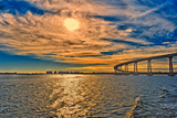 USA, Ca, San Diego Coronado Bay Bridge Photographic Print by Rona Schwarz