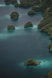 Micronesia, Palau, Aerial View of Rock Islands and World Heritage Site Photographic Print by Stuart Westmorland