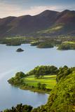 View over Derwentwater, the Lake District, Cumbria, England Photographic Print by Brian Jannsen