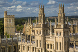 All Souls College and Oxford University, Oxfordshire, England Photographic Print by Brian Jannsen