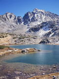 California, Sierra Nevada Mts, Mountains and a Glacial Lake in the Nf Photographic Print by Christopher Talbot Frank