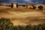 Famous Tuscan Chapel, Madonna Di Vitaleta Photographic Print by Terry Eggers