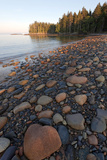 Rocky Granite Beach, Roque Island Archipelago, Down East, Maine Reproduction photographique par Susan Degginger
