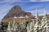 Glacier National Park, Alpine Autumn Snow Photographic Print by Ken Archer