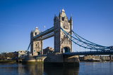 England, London, City, Tower Bridge, Morning Photographic Print by Walter Bibikow