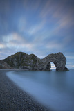 Dawn over Durdle Door Along the Jurassic Coast, Dorset, England Photographic Print by Brian Jannsen