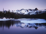 California, Sierra Nevada, Inyo, Mammoth Lakes, Lake Mamie Landscape Photographic Print by Christopher Talbot Frank