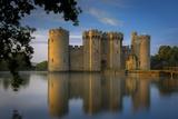 Dawn at Bodiam Castle, Bodiam, Robertsbridge, East Sussex, England Photographic Print by Brian Jannsen