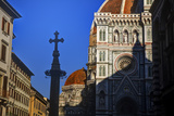 The Duomo of Florence with Evening Light Photographic Print by Terry Eggers