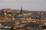 Dawn over Edinburgh, Lothian, Scotland Photographic Print by Brian Jannsen