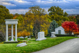 USA, Indianapolis, Indiana. Crown Hill Cemetery Photographic Print by Rona Schwarz