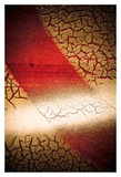 Rust Line Abstract I Print by Jean-François Dupuis