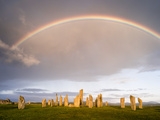 Standing Stones of Callanish, Isle of Lewis, Western Isles, Scotland Photographic Print by Martin Zwick