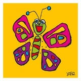 Butterfly Posters by  Yaro