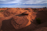 USA, Navajo Nation, Monument Valley, Rock Formations, Mystery Valley Photographic Print by David Wall