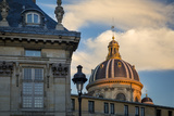 Setting Sunlight on the Dome of Academie Francaise, Paris, France Photographic Print by Brian Jannsen
