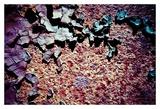 Purple Rust Up Close I Affiches par Jean-François Dupuis
