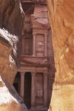 Jordan, the Treasury at Petra Photographic Print by Steve Roxbury