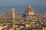 Early Morning over the Duomo, Florence, Tuscany, Italy Photographic Print by Brian Jannsen