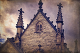 USA, Indianapolis, Indiana. the Gothic Chapel at Crown Hill Cemetery Photographic Print by Rona Schwarz