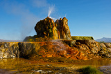 USA, Nevada, Gerlach, Fly Geyser, Black Rock Desert Photographic Print by Bernard Friel
