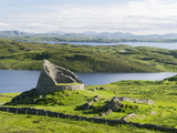 Dun Carloway Broch, Doune Carlabhagh, Isle of Lewis. Scotland Photographic Print by Martin Zwick