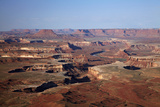 Utah, Canyonlands National Park, White Rim and Green River, Island in the Sky Photographic Print by David Wall