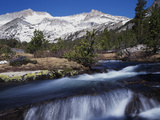 California, Sierra Nevada Mts, Inyo Nf, a Creek in the High Sierra Photographic Print by Christopher Talbot Frank
