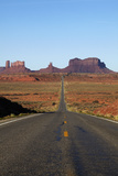 Utah, Navajo Nation, U.S. Route 163 Heading Towards Monument Valley Photographic Print by David Wall