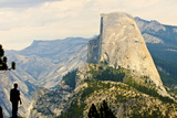 USA, California, Yosemite National Park, Half Dome, from Washburn Point Photographic Print by Bernard Friel