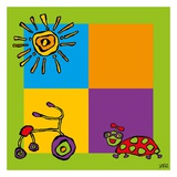 Tricycle Prints by  Yaro