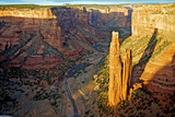 Spider Rock in Canyon De Chelly, Arizona Photographic Print by Richard Wright