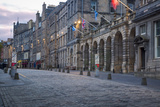 Deserted Street Along the Royal Mile, Edinburgh, Lothian, Scotland Photographic Print by Brian Jannsen