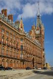 Clock Tower of Saint Pancras Renaissance Hotel, London, England Photographic Print by Brian Jannsen