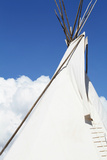 Santa Fe, New Mexico. USA Native American Tee Pee Photographic Print by Julien McRoberts