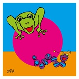 Frog and Caterpillar Posters by  Yaro
