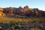 Rugged Beauty of the Kofa Mountains, Kofa Wildlife Refuge, Arizona Reproduction photographique par Susan Degginger