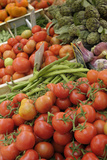 France, Vaucluse, Lourmarin. Vegetables at the Lourmarin Friday Market Photographic Print by Kevin Oke