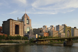 Pennsylvania, Pittsburgh. Renaissance Pittsburgh Hotel and Bridge Photographic Print by Kevin Oke