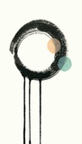 Zen Circles B Prints by Natasha Marie