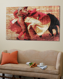 San Miguel, Bullfight 1 Art by Doug Landreth